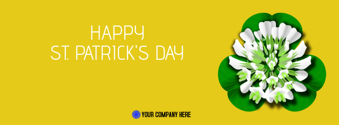 St. Patrick's Day Facebook Cover Ikhava Yesithombe se-Facebook template