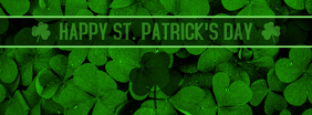 St. Patrick's Day Facebook Cover template