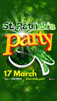 St. Patrick's Day Party Template