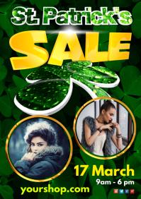 St. Patrick's Day Sale Flyer