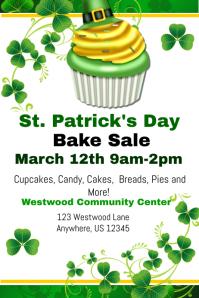 St. Patricks Cupcake Sale