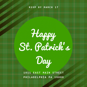 St. patricks Day Celebration Template