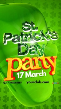 St. Patricks Day Party Template