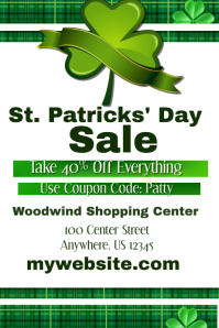St. Patricks Day Sale Event Template