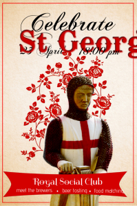 St George Poster Template