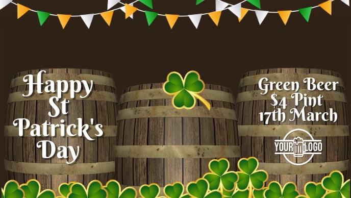 St Patrick's Bar Pub Event Video Template