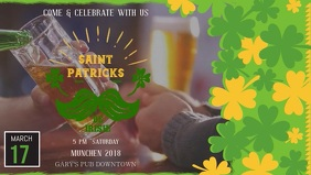 St Patrick's Day Bar Ad Banner