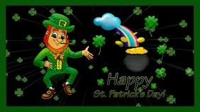 St Patrick's day Ekran reklamowy (16:9) template