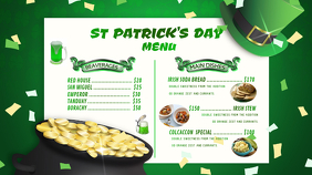 ST PATRICK'S DAY YouTube Channel Cover Photo template