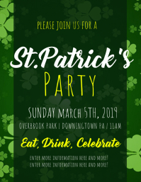ST PATRICK'S DAY Flyer (US Letter) template
