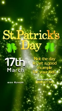 St Patrick's Day Event Poster