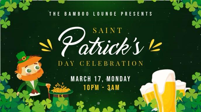 St Patrick's Day Parade Invitation