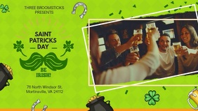 St Patrick's Day Pub Advert Banner