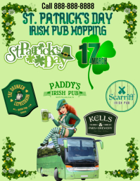 St Patrick's Day Pub Hopping