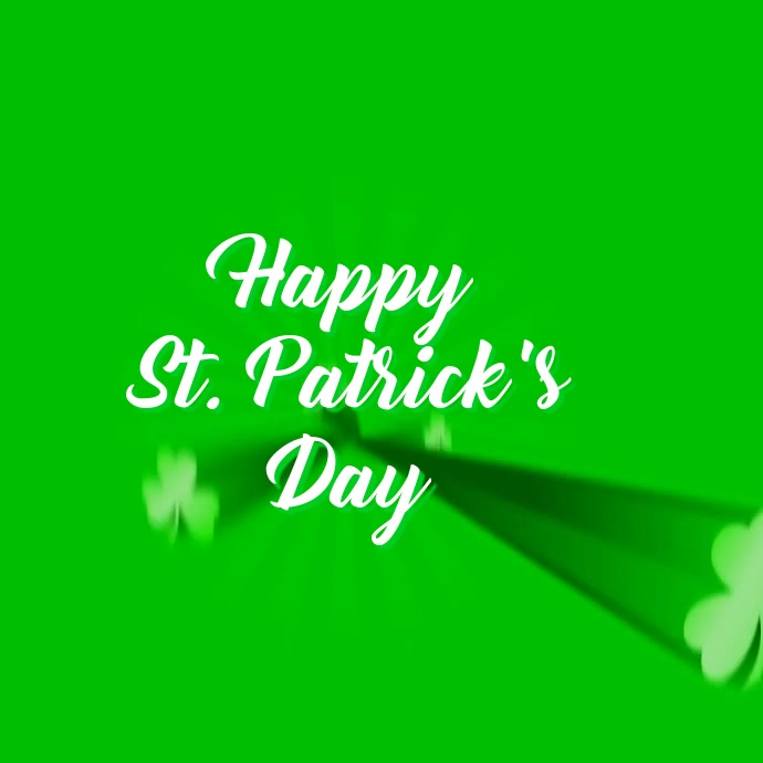 ST PATRICK'S DAY VIDEO TEMPLATE