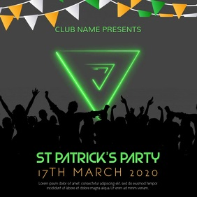 St Patrick's Event Party Video Template