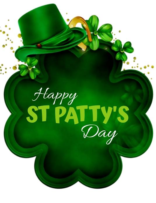 ST Patrick's Flyer Template Pamflet (Letter AS)