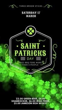 St Patrick's Party Digital Display Ad