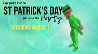 St Patrick's day party Presentatie (16:9) template