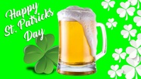 St Patrick Day Facebook Cover Video 2020 template