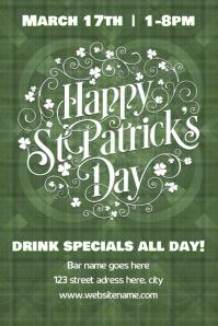 St Patrick's Day poster/flyer