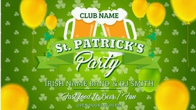 St Patrick's Music Party Video Template