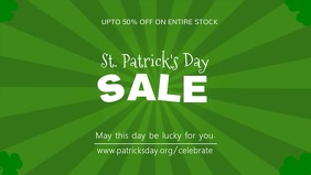 St Patrick's Sale Cover Video Template