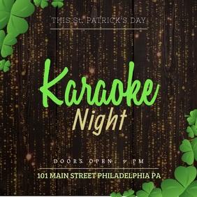 St Patrick's Karaoke Video template