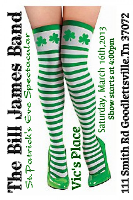 St Patricks Day Poster Template