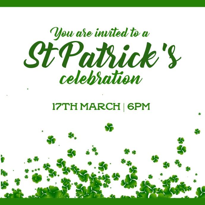 St patricks celebration
