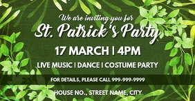 St Patricks day event cover template