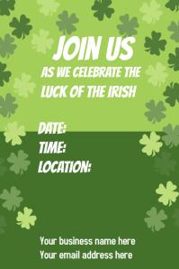 Saint Patrick's Day Event Poster
