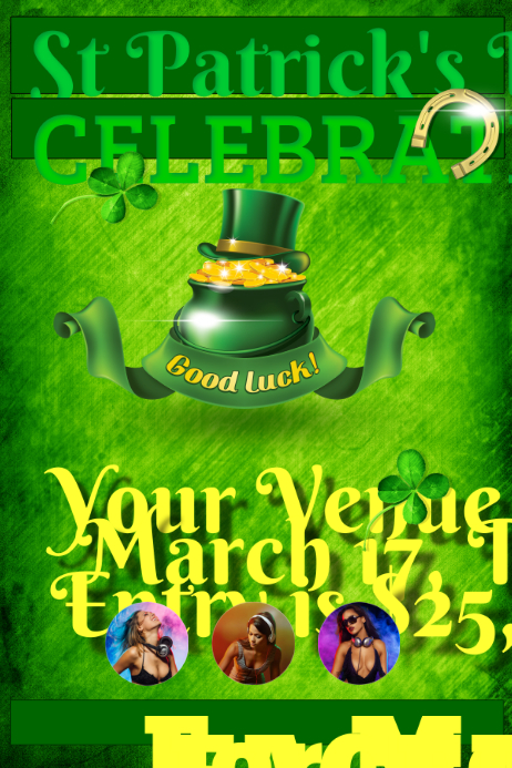 St Patrick's Day Flyer