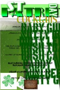 ST PATRICKS DAY FLYER