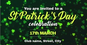 St Patricks Day invite