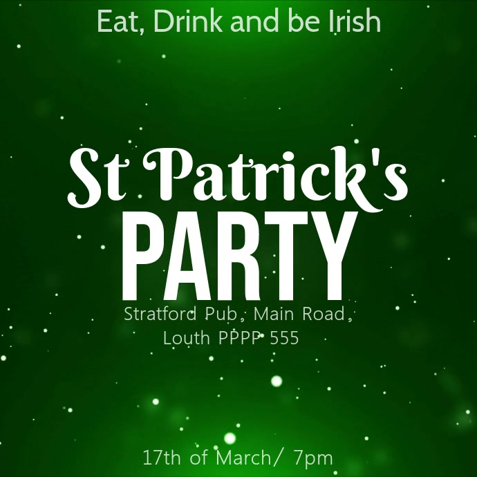 st patricks day party instagram