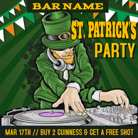 St Patricks Day Party Template