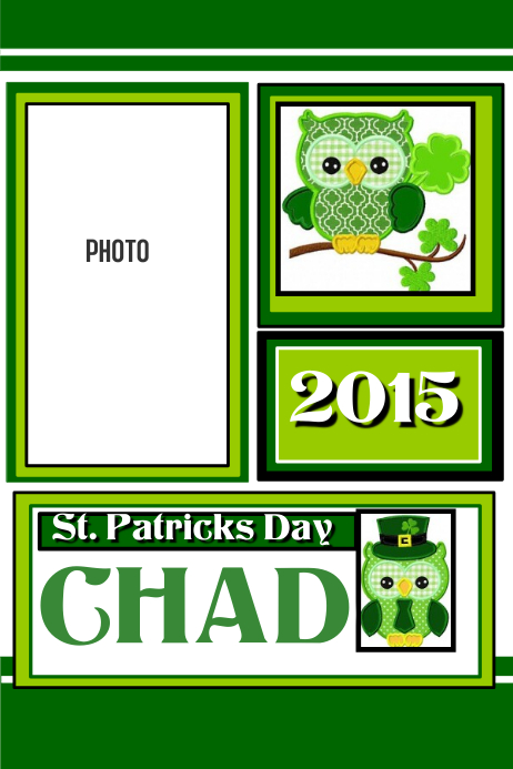 St. Patricks Day Photo Collage