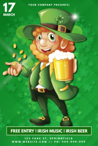 St Patricks Day Poster