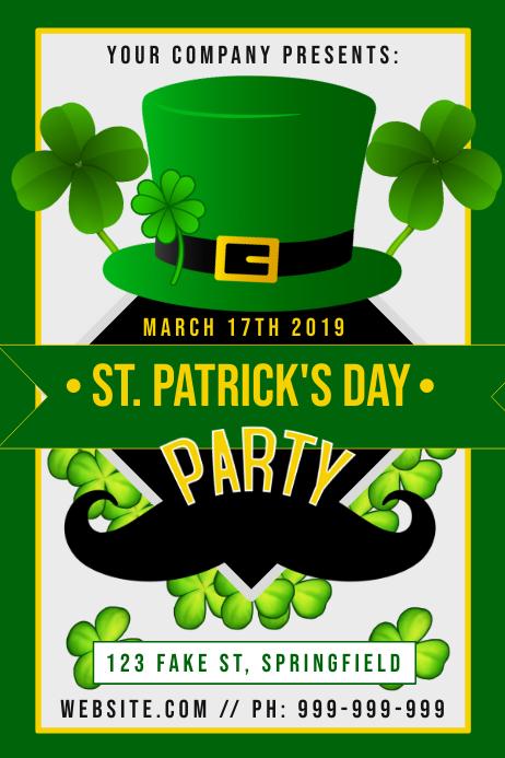 St Patricks Day Poster