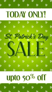 St Patricks day sale