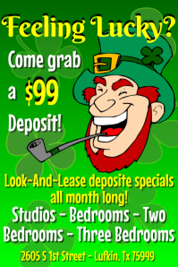St Patricks Day Specials