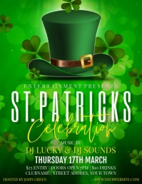 ST PATRICKS Flyer (format US Letter) template