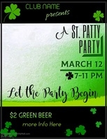 St Patricks Party Video