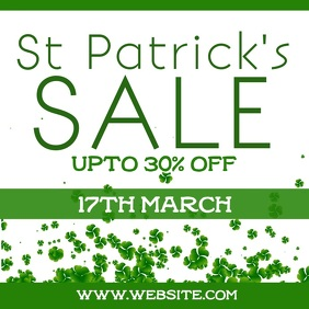 St patricks sale