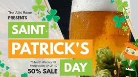 St Patty's Big Sale Advert