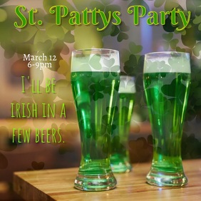 St Patty's Day Event Instagram video Post