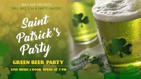 St Patty's Facebook Cover Template
