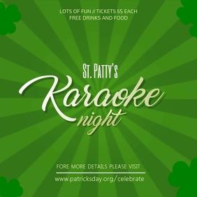 st patty's Karaoke Video Template