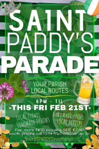St Saint Paddy Patrick Clover Cabbage Irish
